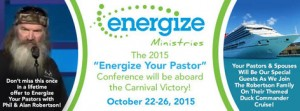 Energize Your Pastor Cruise and Conference