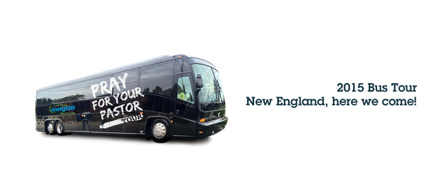 Pray for Your Pastor Bus Tour Rolling Through New England!