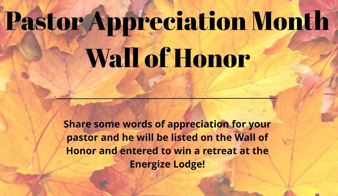 Pastor Wall of Honor