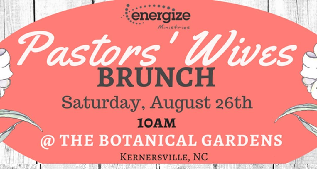 Join us for a Special Brunch for Pastors' Wives!
